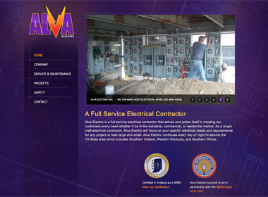 Alva Electric website