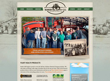 Bunker Hill Supply Co. website