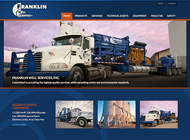Franklin Well Services, Inc. website