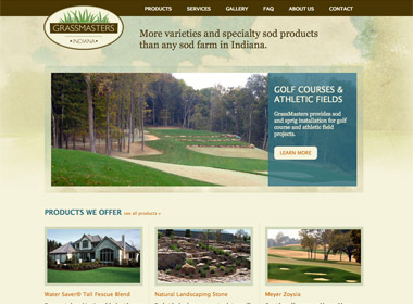 Grassmasters Indiana Website