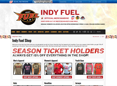 Indy Fuel Hockey Shop