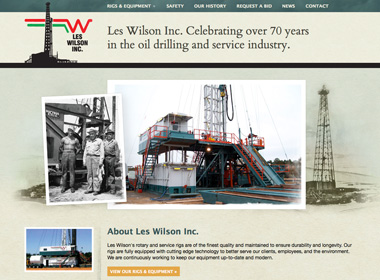 Les Wilson Inc. website