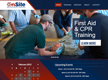 OnSite Health & Safety Services website